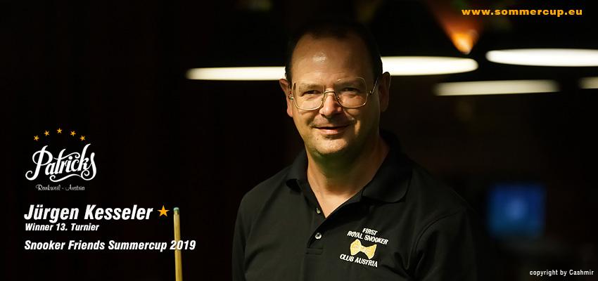 Winner 13. Turnier 2019