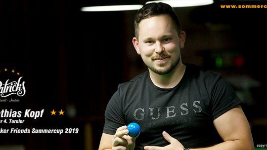 Winner 4. Turnier 2019