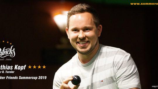 Winner 8. Turnier 2019
